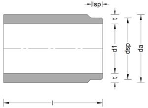 Stahlbeton-Anschlussstück-ohne-Glocke
