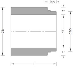 Stahlbeton-Anschlussstück-ohne-Muffe-DN-1300-2600-Gleitringdichtung