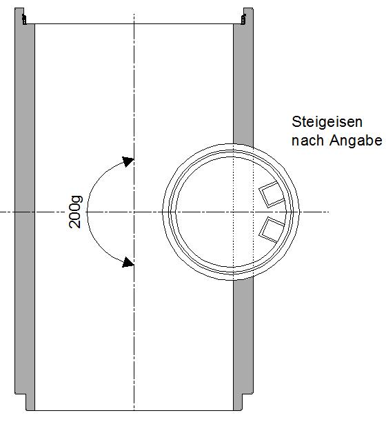 Tangentialschacht-mit-Stehfläche